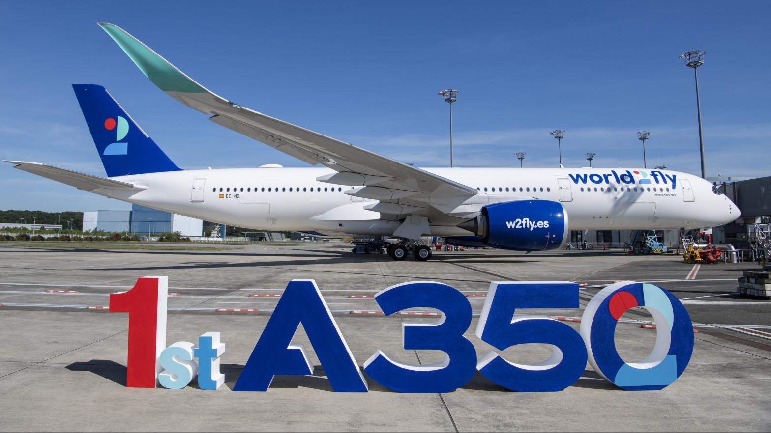 Avión World2Fly (Iberostar)