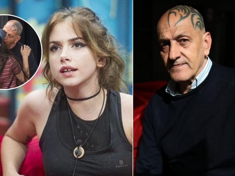 Coto Matamoros y Carlota Prado son pareja y se tatúan un atípico tatuaje