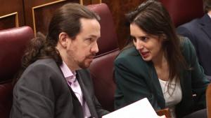 Pablo Iglesias e Irene Montero habrían roto según un digital