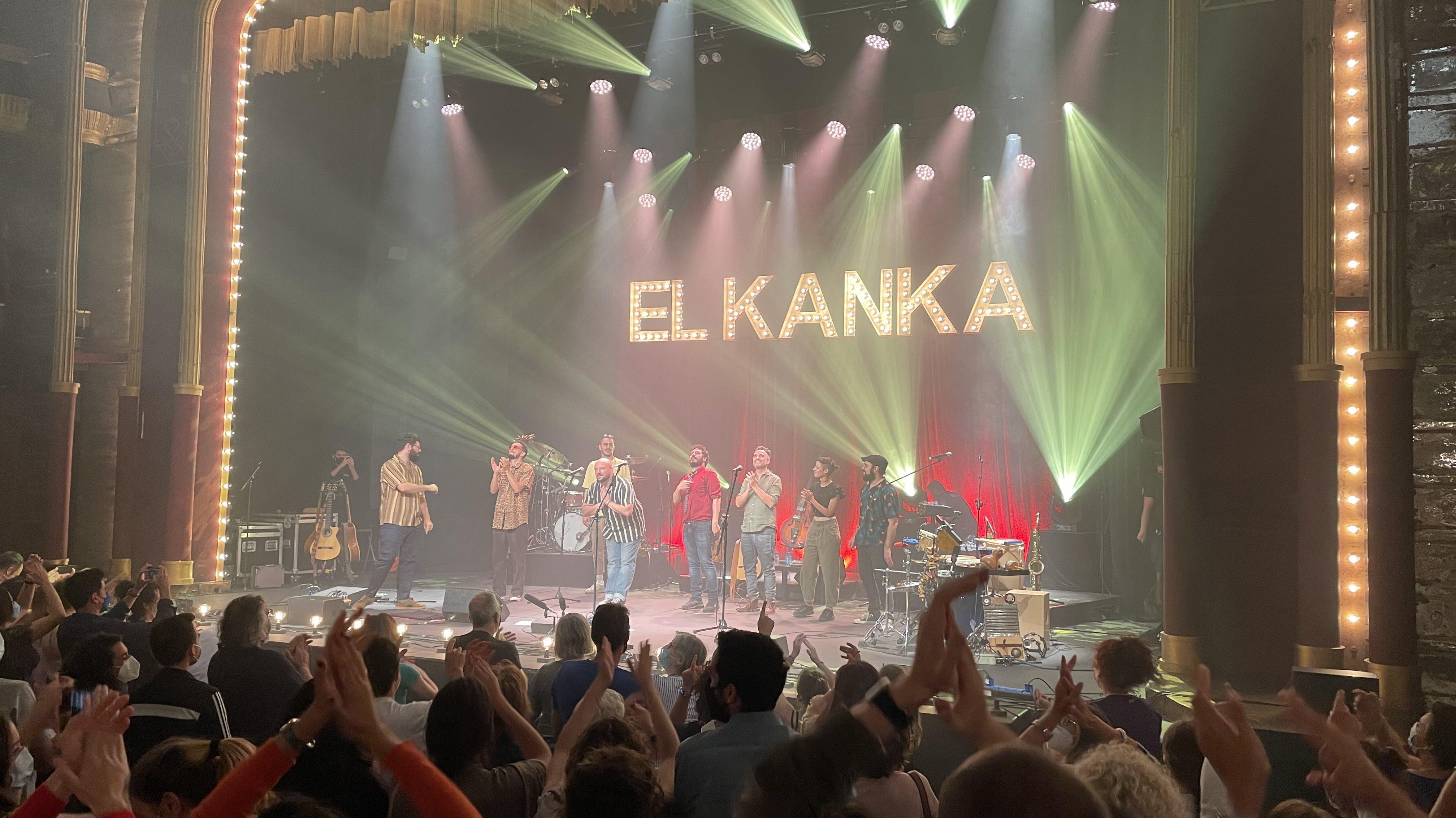 Concierto de El Kanka en Madrid.