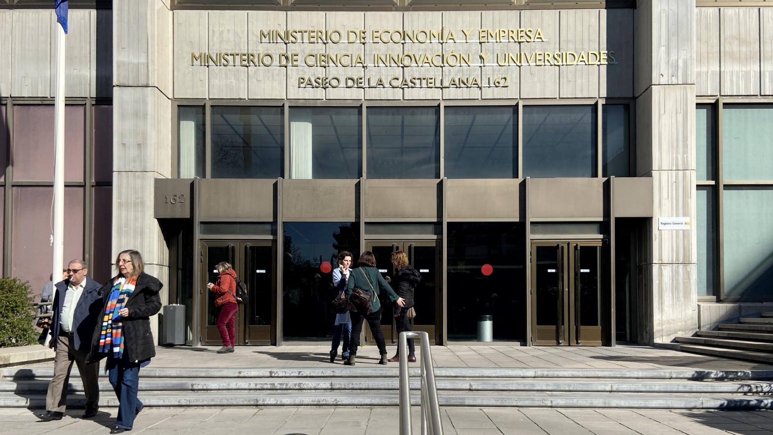 Ministerios de Economía.
