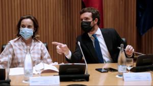 """Casado acusa a Sánchez de """"blindar un segundo procés"""" con los indultos y buscar un """"cambio de régimen"""""""
