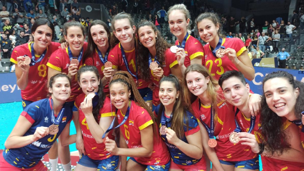 España conquista el bronce en la European Golden League de voleibol femenino