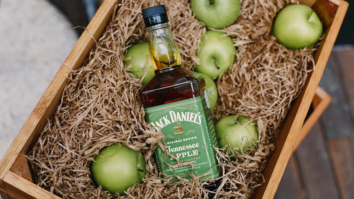 Jack Daniel's presenta Tenessee Apple, su nuevo whisky con sabor a manzana