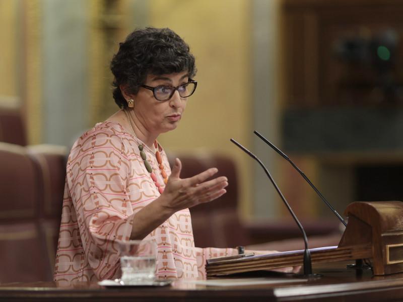 """Hernando (PP) responsabiliza a Laya de la resolución en el Consejo de Europa y la ministra le pide que """"ladre"""" menos"""