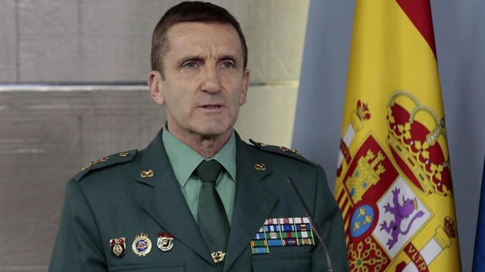 """El Gobierno asciende al general de la Guardia Civil que habló de minimizar """"desafecciones"""" contra Moncloa"""