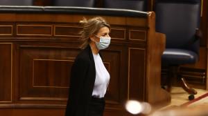 """Vox pide la destitución y reprobación en el Congreso de Yolanda Díaz por """"falsear"""" su currículum"""