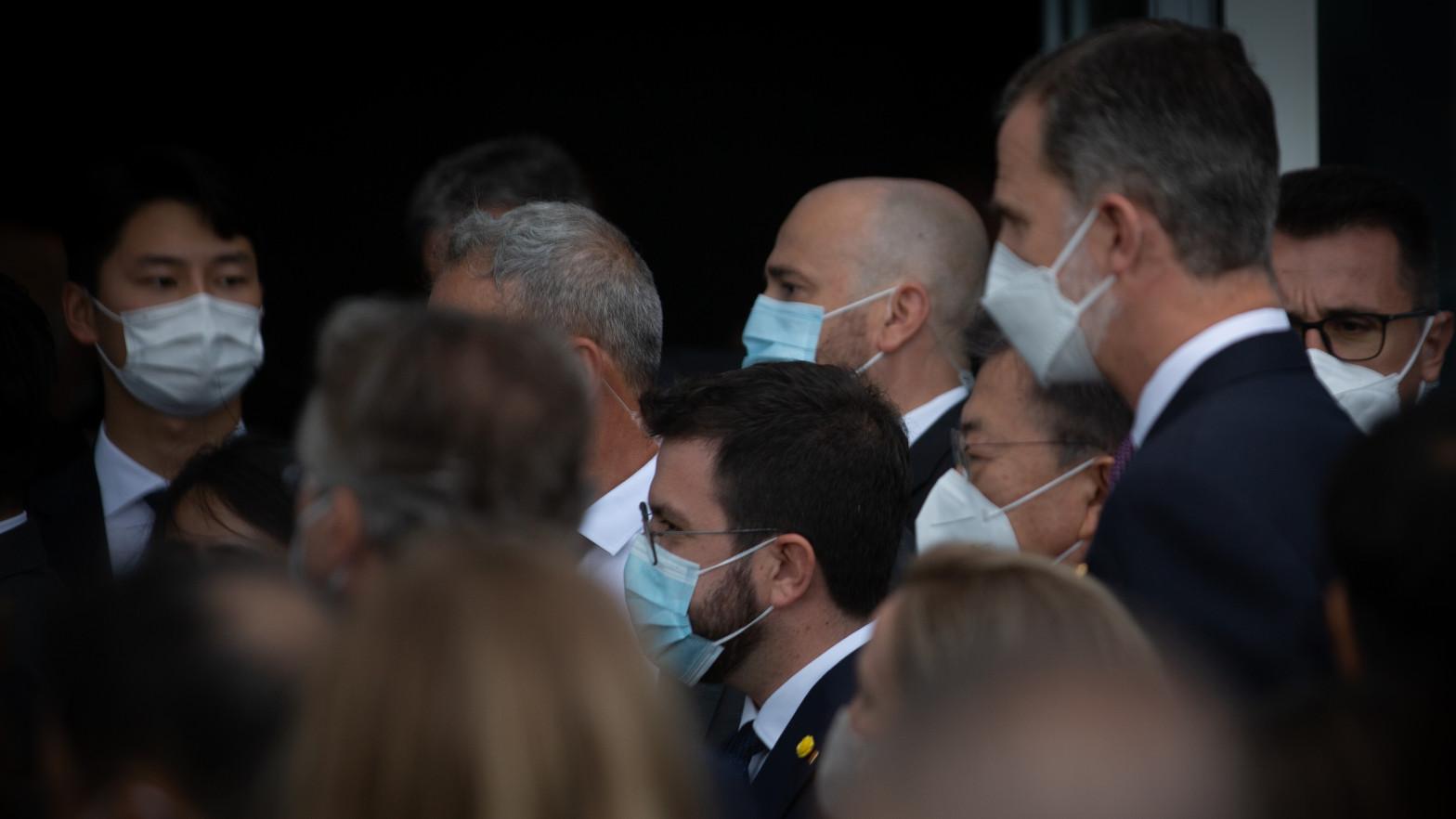 Aragonès acudirá el domingo a la cena inaugural del Mobile World Congress que preside el Rey