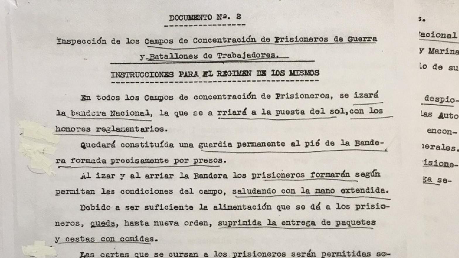 Documentación sobre el campo de concentración de la Magdalena (Santander)