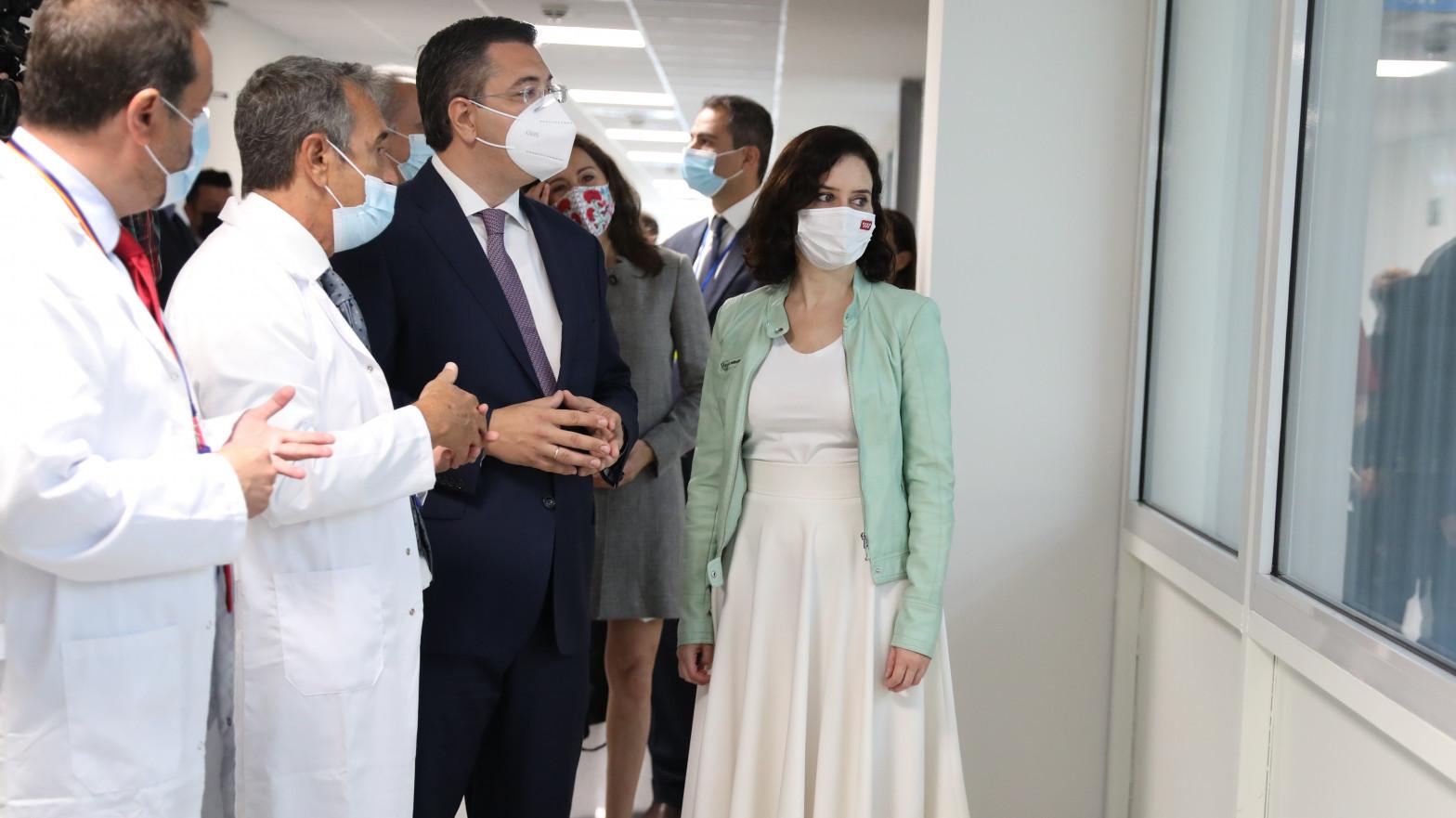 El Hospital Isabel Zendal de Madrid comenzará a vacunar 24 horas al día desde el lunes