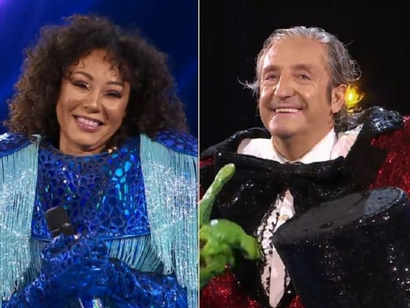 Josep Pedrerol y Mel B. (Spice Girl), eran Rana y Medusa en Mask Singer 2
