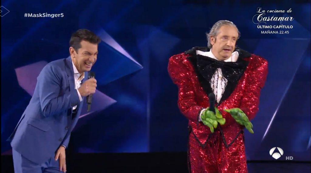 Josep Prederol estaba debajo de la máscara de Rana en 'Mask Singer'