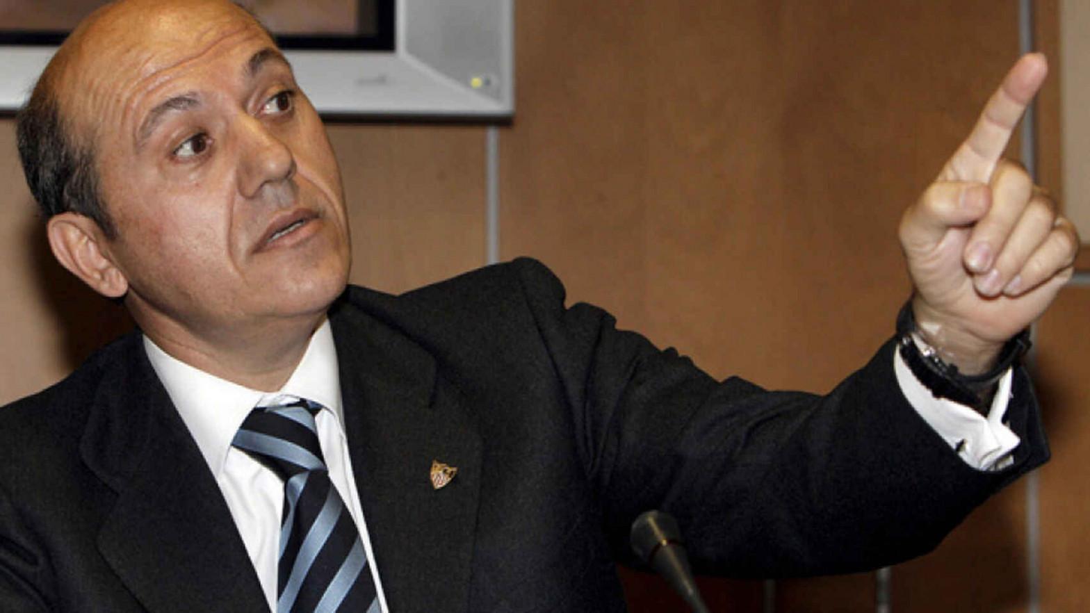 José María del Nido es una de las figuras del fútbol que sigue debiendo dinero a Hacienda