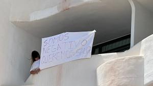 Estudiante gallega confinada en una habitación del hotel Bellver de Mallorca por el macrobrote
