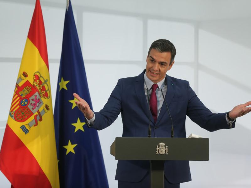 Pedro Sánchez británicos