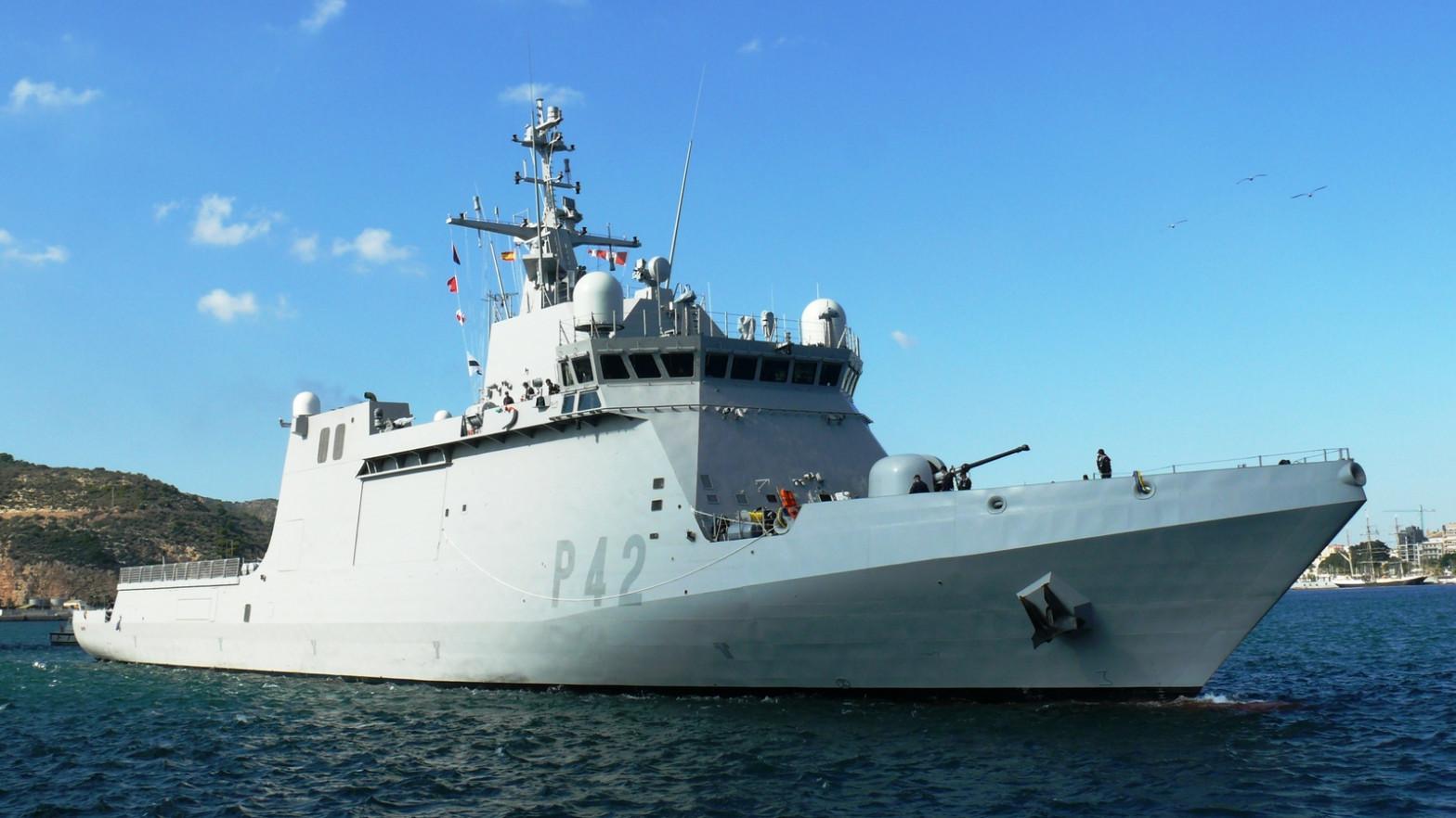 El buque de acción marítima 'Rayo' participa en el ejercicio organizado por EEUU y Ucrania en el Mar Negro