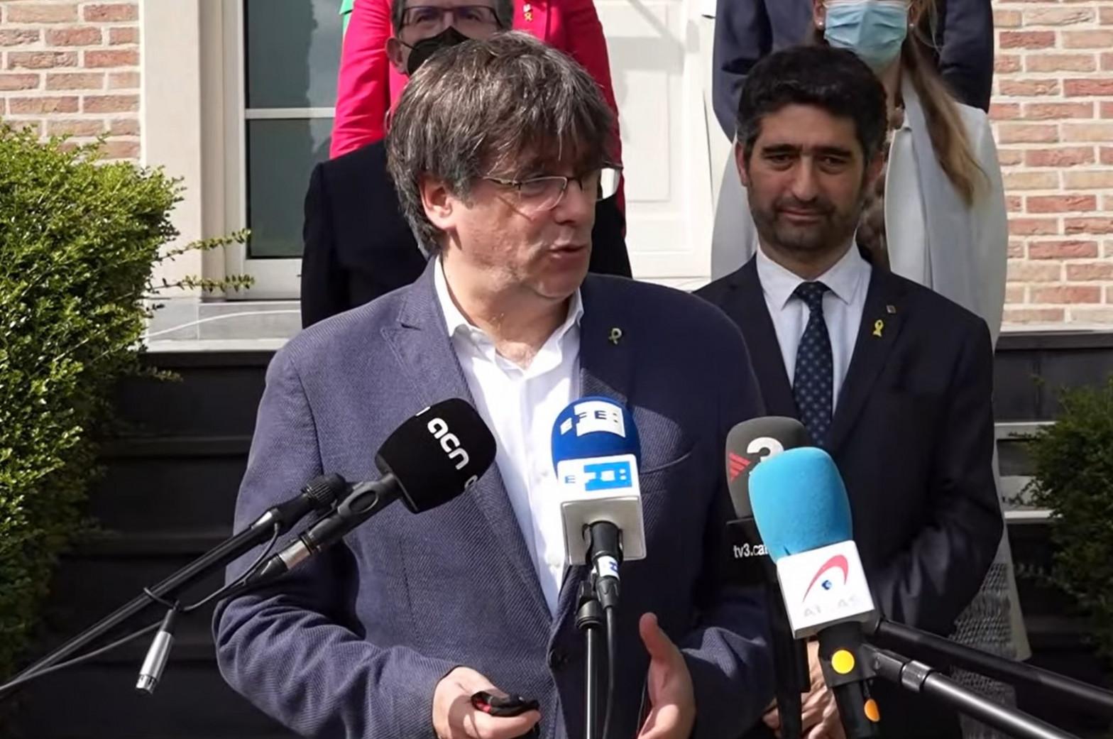 El Tribunal de Cuentas reclama 1,9 millones a Carles Puigdemont y a Oriol Junqueras