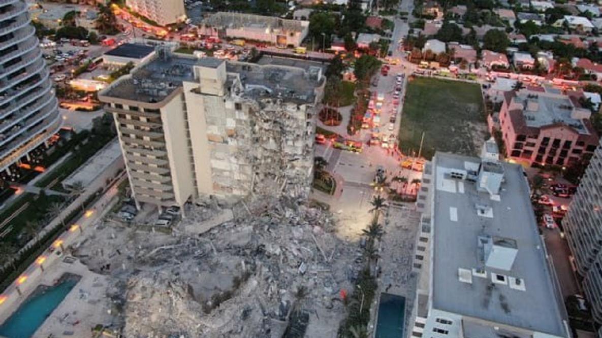Asciende a 11 la cifra de muertos por el derrumbe de un edificio en Miami (EEUU)