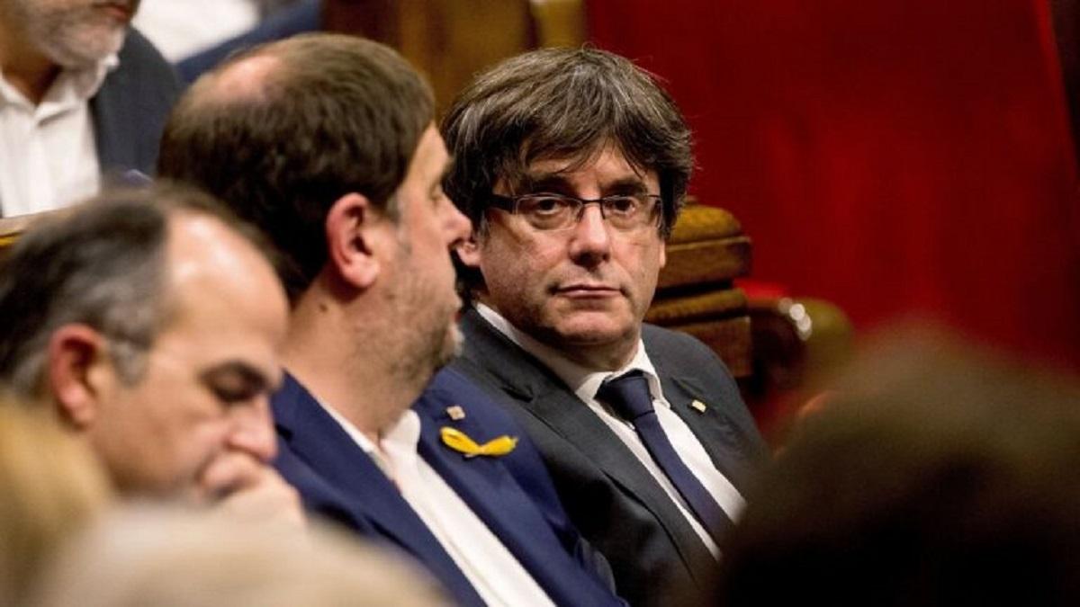 Puigdemont y Junqueras se reencontrarán el miércoles en Bélgica