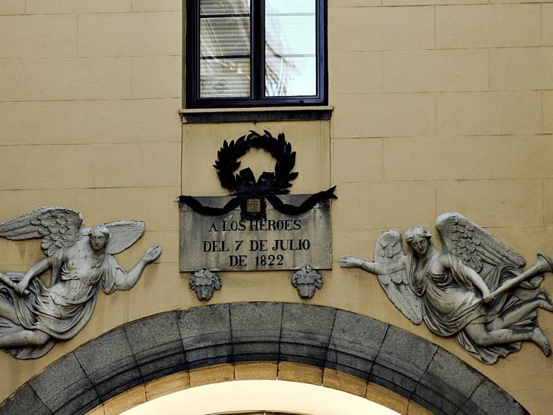 Arco de los Héroes del 7 de julio 1822.