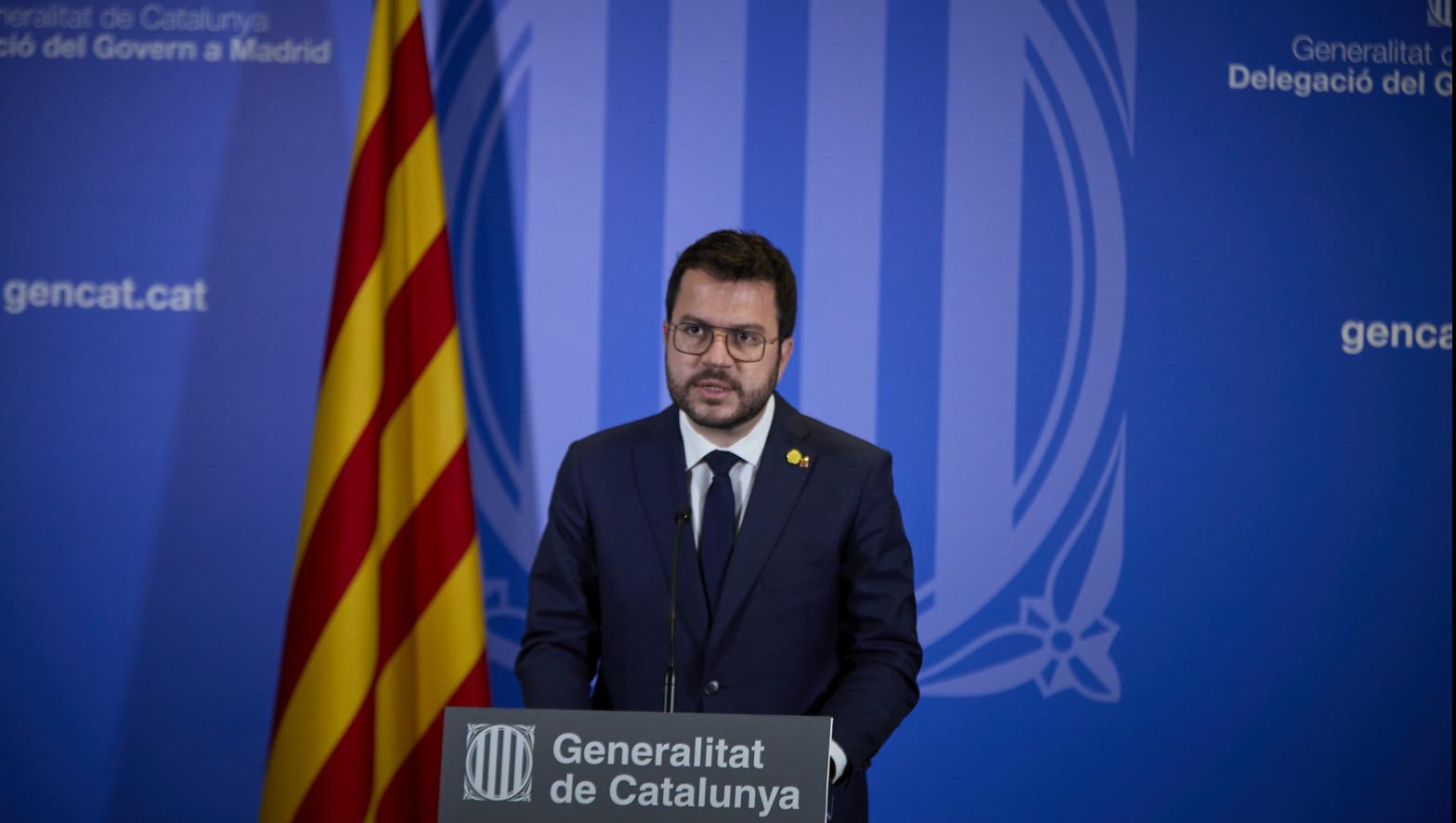 Cataluña pide a la justicia el toque de queda 158 municipios, entre ellos Barcelona
