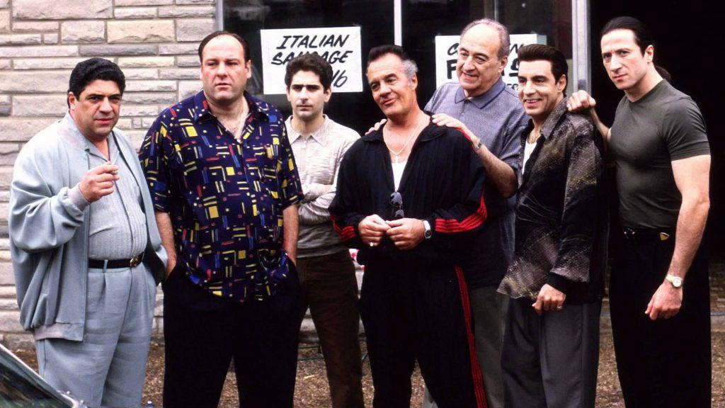 Imagen de la serie original 'Los Soprano'. HBO.