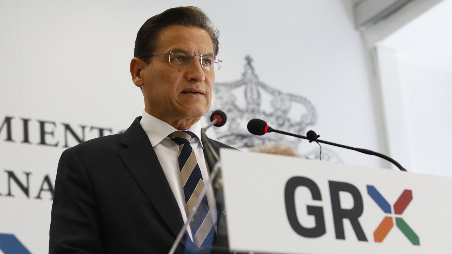 El alcalde de Granada, Luis Salvador.