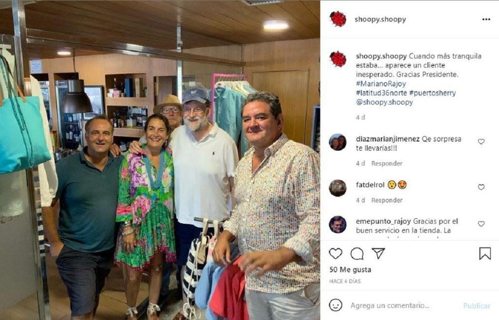 Mariano Rajoy, de vacaciones por Cádiz