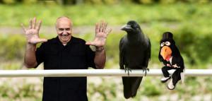 José Luis Moreno y lo que dice el cuervo.