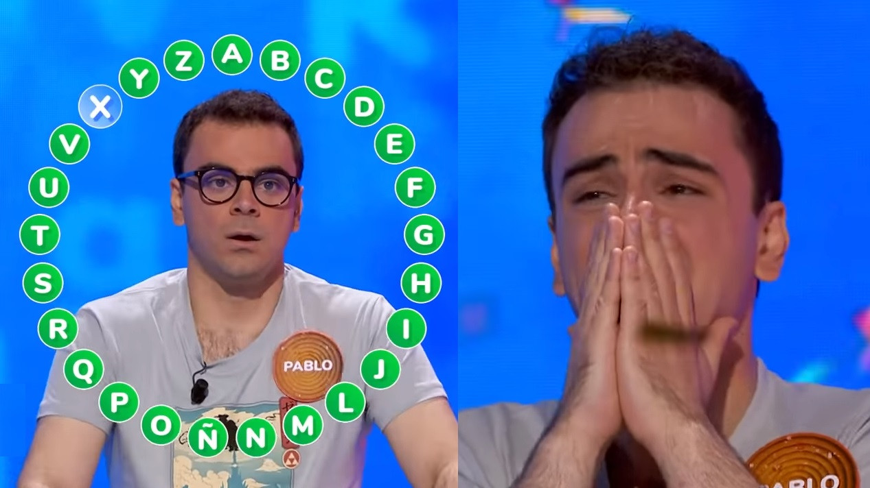 Pablo Díaz gana el rosco de 'Pasapalabra'