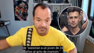 El aplaudido discurso de Ángel Martín tras la muerte de Samuel Morir porque te den una paliza es ser asesinado