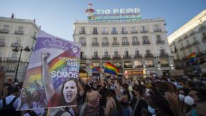 """Unas 3.000 personas protestan en Madrid por la muerte de Samuel: """"No queremos más desfiles, queremos barricadas"""""""
