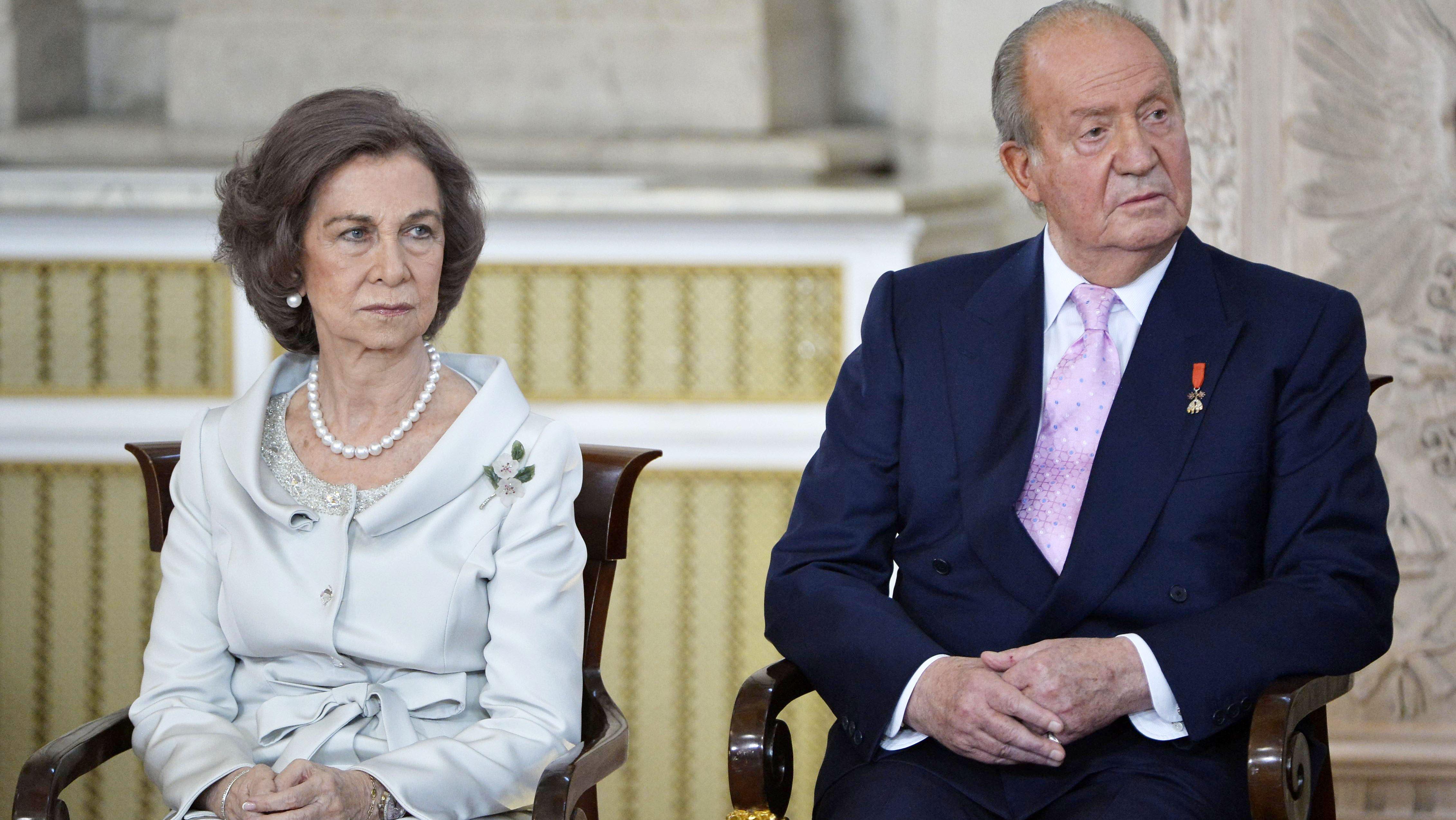 La reina Sofía junto a Juan Carlos I en una imagen de 2014. Europa Press.