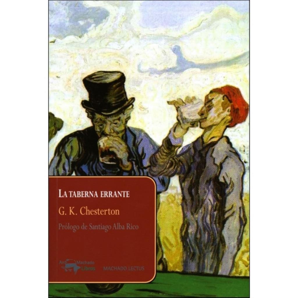 """Portada de """"La taberna errante"""" (Antonio Machado Libros)"""