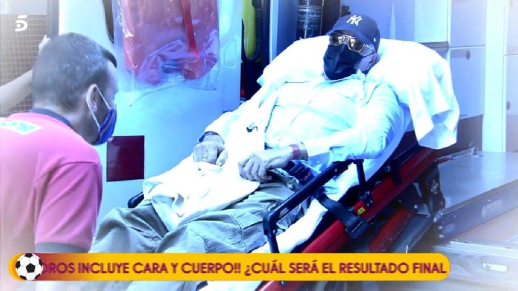 Kiko Matamoros entra así en el plató de Sálvame tras la operación