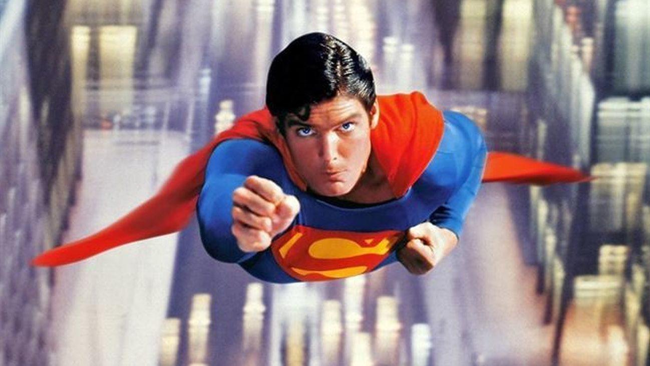 Christopher Reeve en 'Superman', de Richard Donner'.