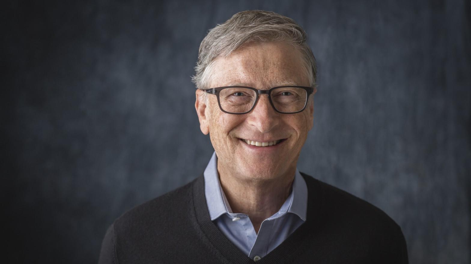 Bill Gates, copresidente de la Fundación.