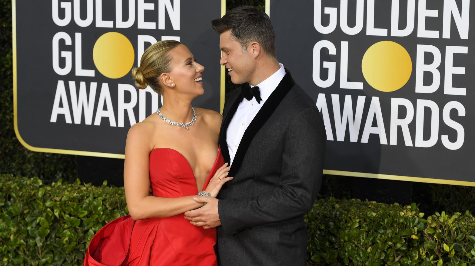 Scarlett Johansson y Colin Jost están esperando un hijo