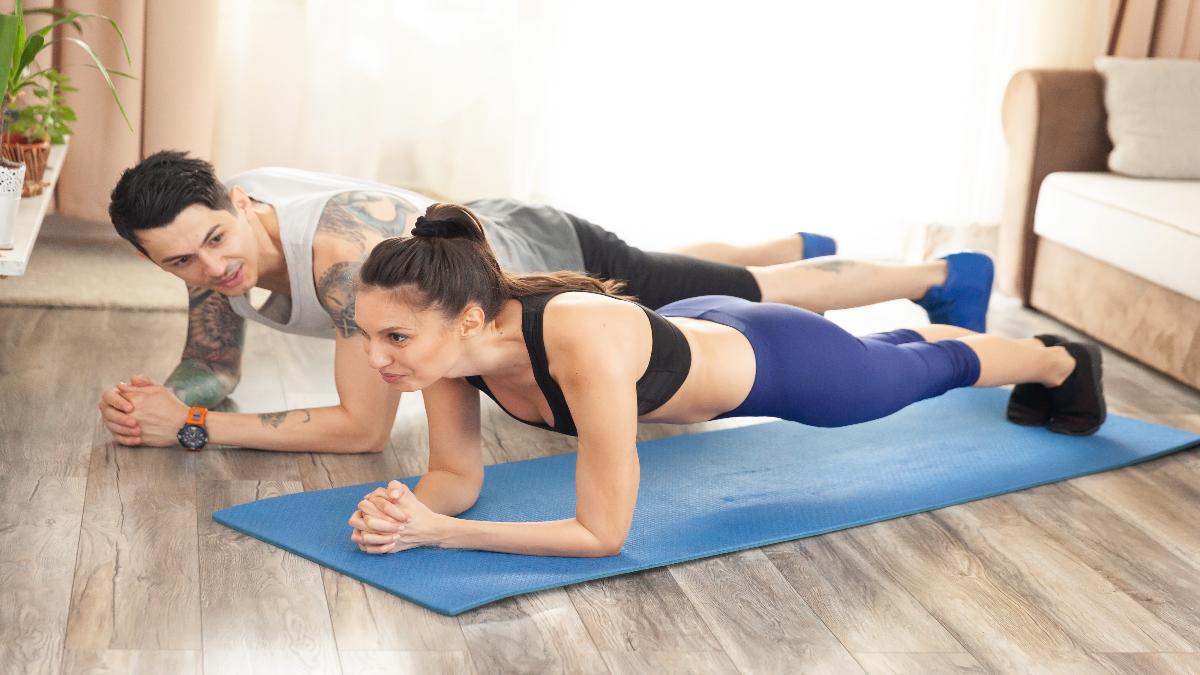 pectorales ejercicio gimnasio flexiones
