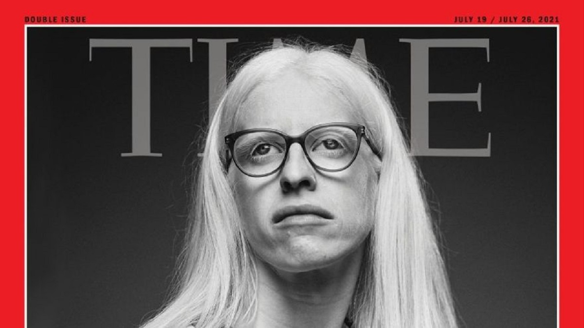 La triatleta española Susana Rodríguez, portada de la revista Time