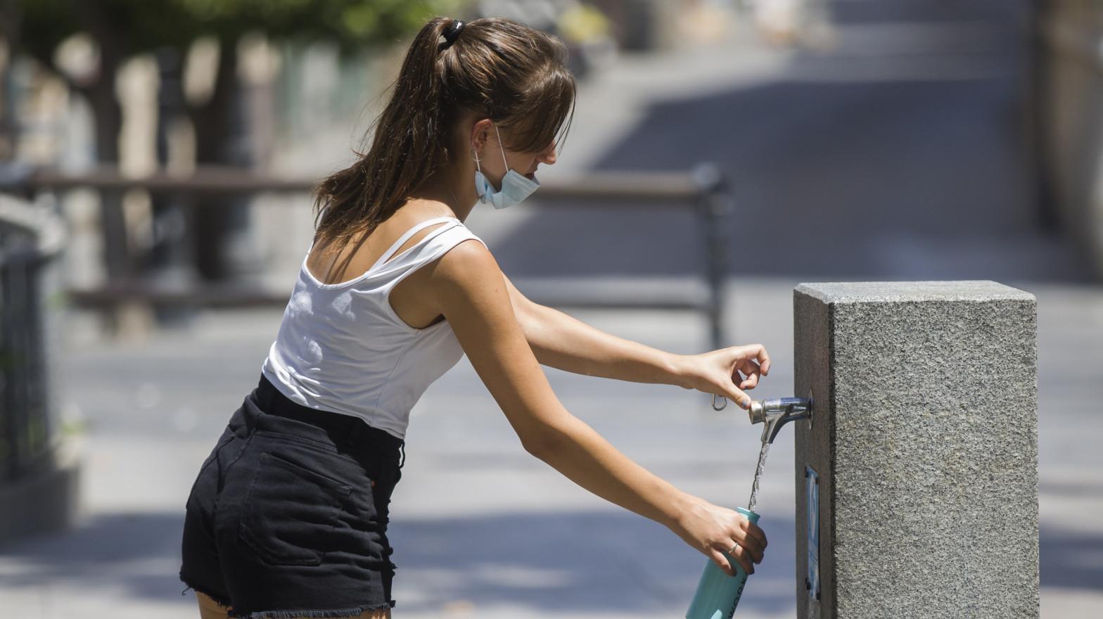 Las temperaturas comienzan a subir hasta llegar a los 44ºC en el sur el domingo