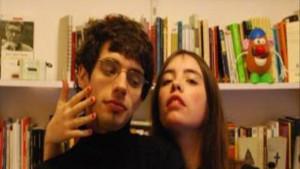 Los escritores Antonio Rodríguez y Luna Miguel