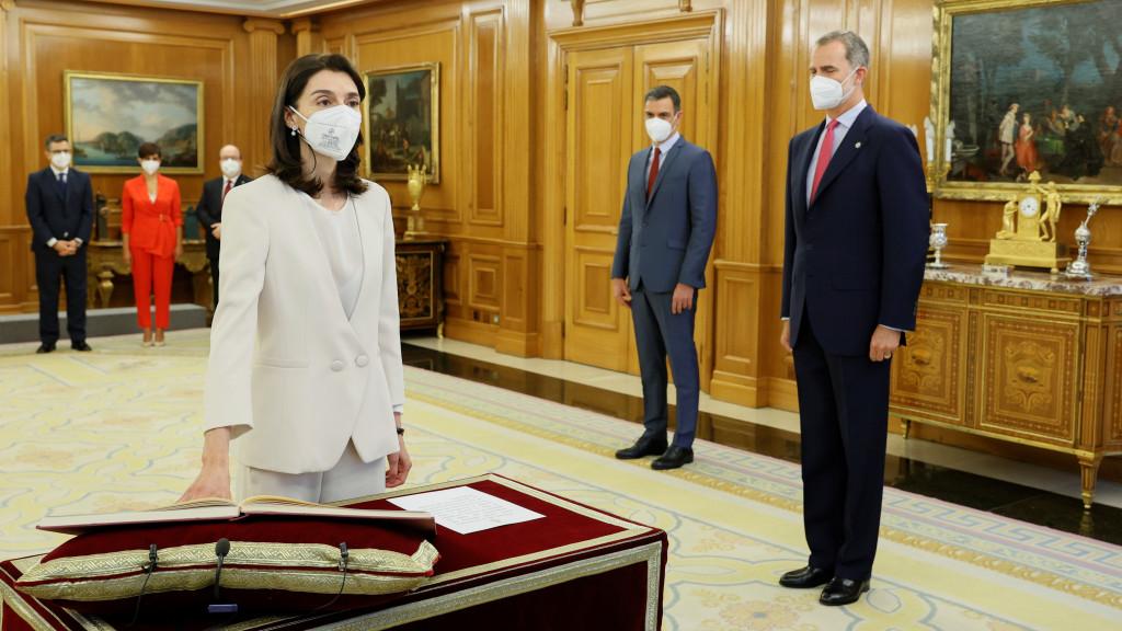 La nueva ministra de Justicia, Pilar Llop.