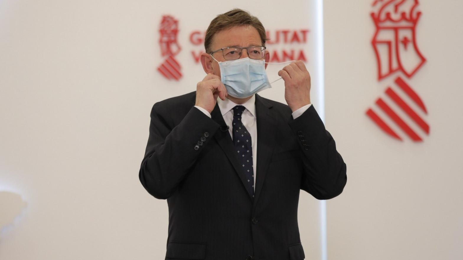 Ximo Puig defiende la remodelación del Gobierno.