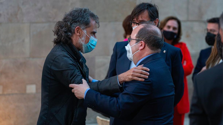 La 'caída' de Iceta enciende las alarmas en el Govern sobre la viabilidad del diálogo con Sánchez