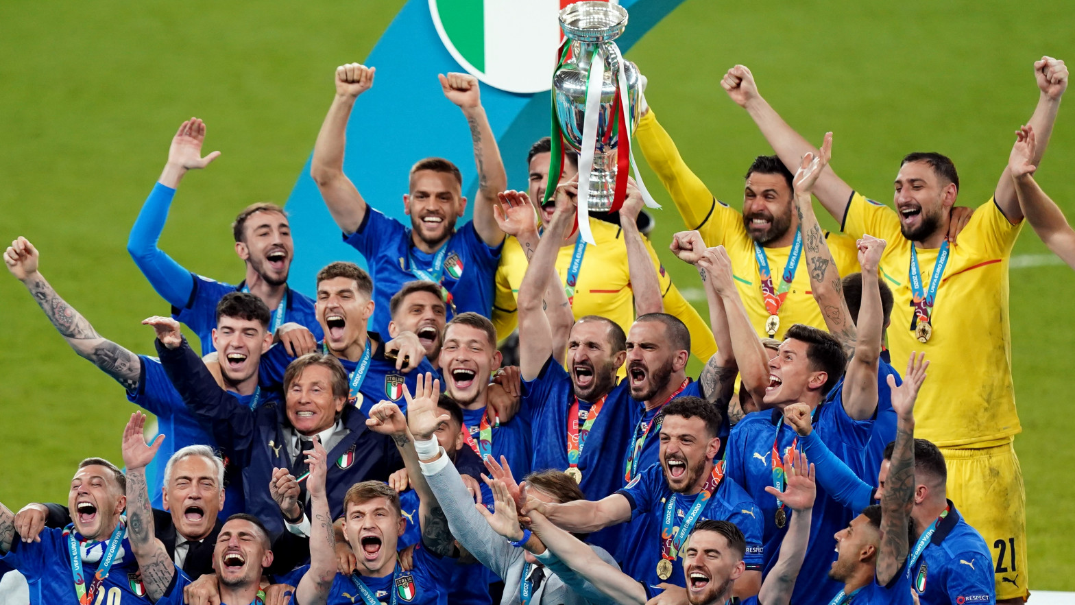 Italia se corona en Wembley tras ganar en los penaltis a Inglaterra