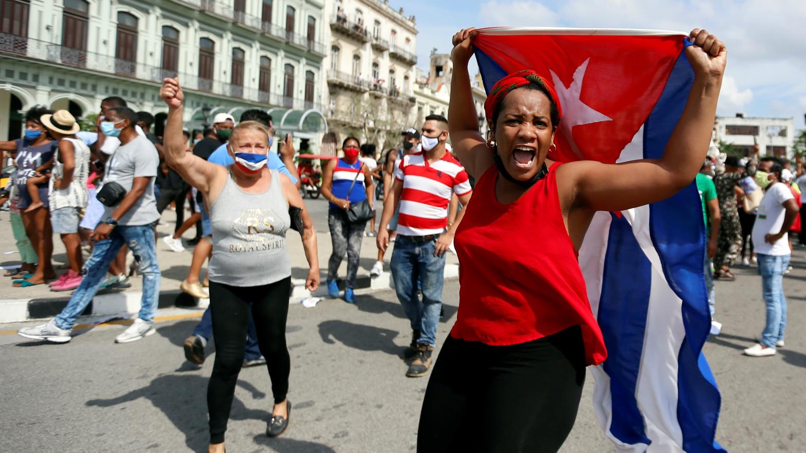 El régimen cubano reprime pero no acalla las históricas manifestaciones por la libertad