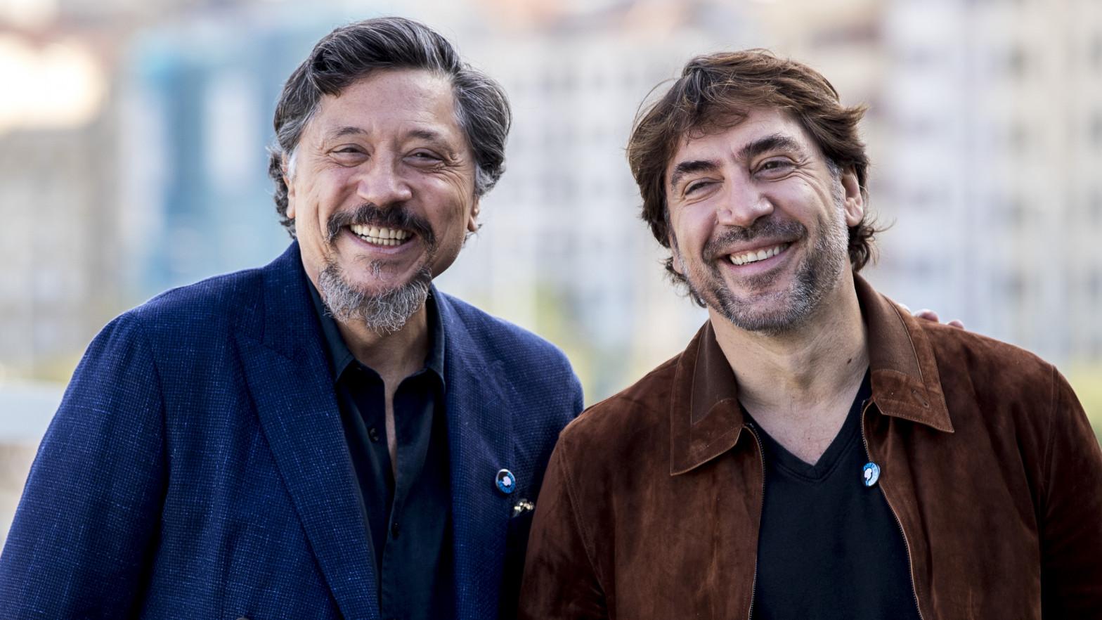 Carlos Bardem y Javier Bardem