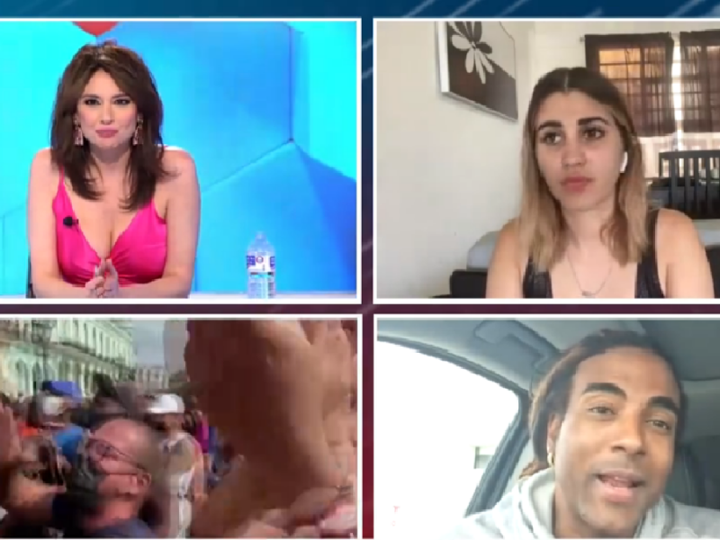 La 'youtuber' cubana Dina Stars es detenida en pleno directo del programa 'Todo es mentira'