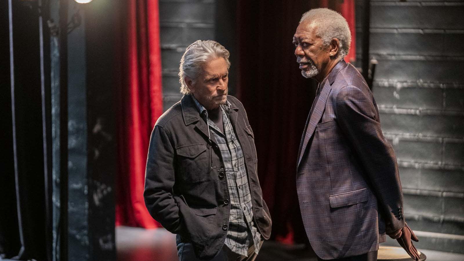 Morgan Freeman en 'El método Kominsky', nominado en los premios Emmy.